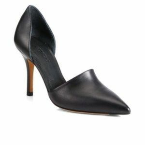 Vince Claire pointed toe D'orsay leather pumps